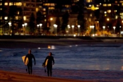 Manly Night Surf