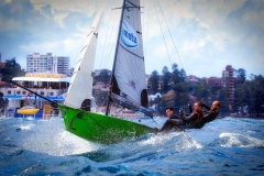 Manly Skiff sailing club